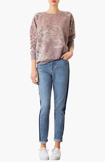 Alternate Image 3  - Topshop Leopard Sweatshirt