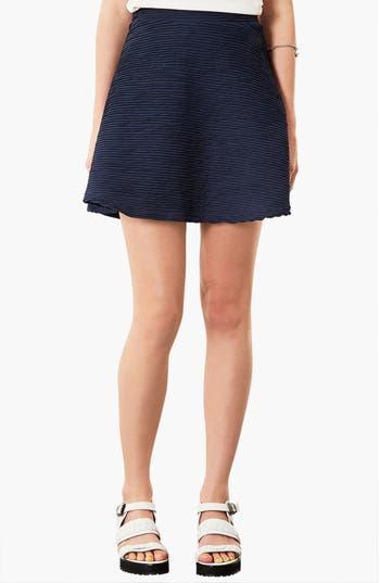 Main Image - Topshop Ottoman Skater Skirt