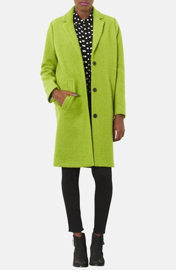 Alternate Image 4  - Topshop Oversized Wool Boyfriend Coat