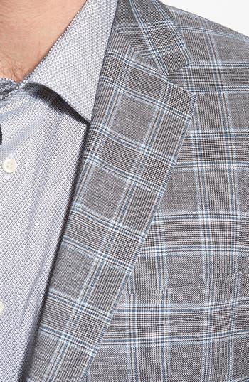 Alternate Image 3  - BOSS HUGO BOSS 'James' Trim Fit Plaid Sportcoat
