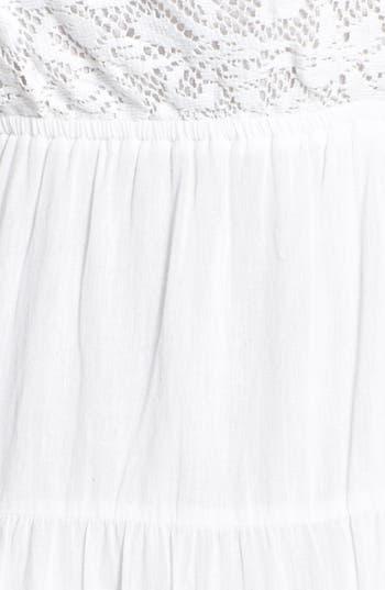 Alternate Image 3  - Rip Curl 'Dreamweave' Lace Inset Tiered Dress (Juniors)