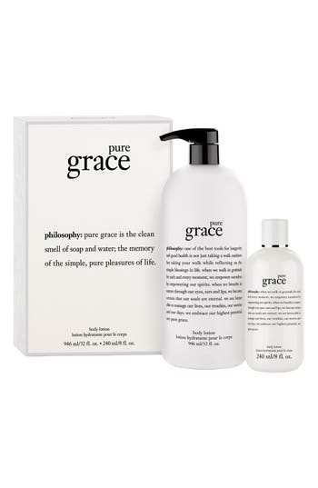 Alternate Image 2  - philosophy 'pure grace' body lotion duo ($94 Value)