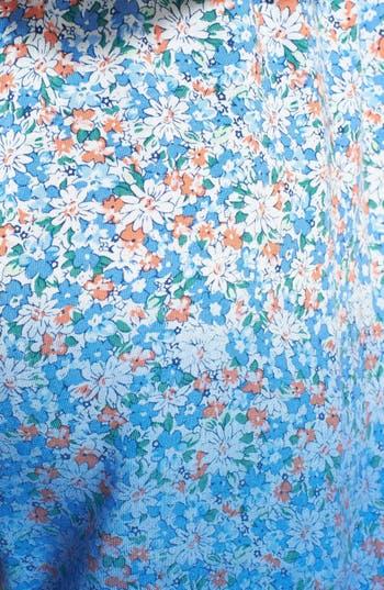 Alternate Image 3  - Blu Pepper Floral Print Ombré Soft Shorts (Juniors)