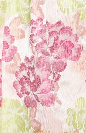 Alternate Image 3  - a. drea 'Ariana' Textured Floral Strapless Dress (Juniors)
