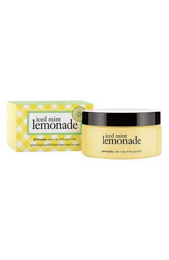 Alternate Image 2  - philosophy 'iced mint lemonade' glazed body soufflé (Limited Edition)