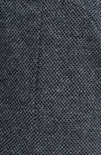 Alternate Image 3  - Kristen Blake Hooded Wool Blend Coat (Plus Size)