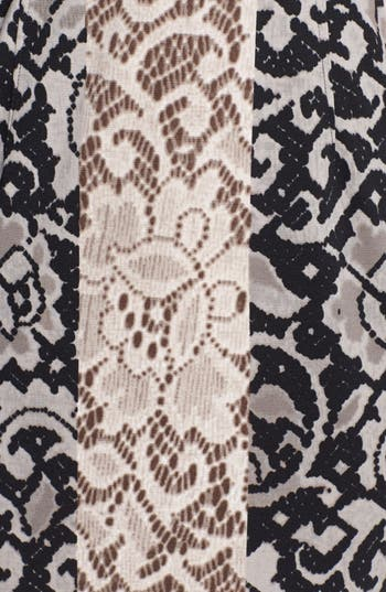 Alternate Image 3  - Maggy London Mixed Print Ponte Knit Sheath Dress