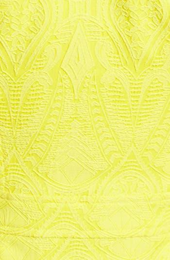 Alternate Image 3  - Nanette Lepore 'Honeymoon' Cotton Blend A-Line Dress