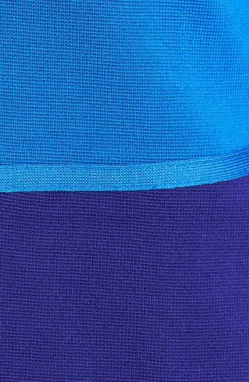 Alternate Image 3  - Misook 'Paulie' Colorblock Knit Jacket