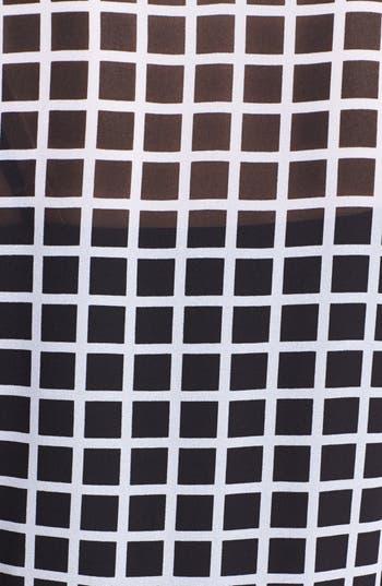 Alternate Image 3  - MICHAEL Michael Kors Colorblock Print Blouse (Petite)