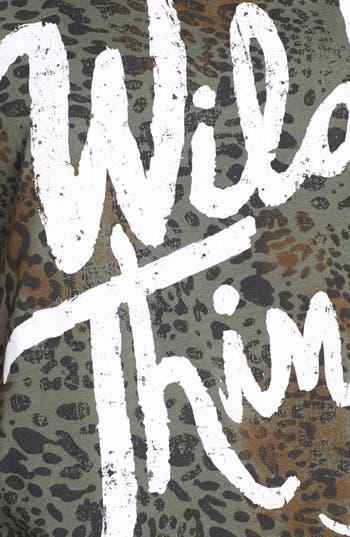 Alternate Image 3  - Ten Sixty Sherman 'Wild Thing' Print Crop Tank (Juniors)