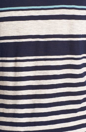 Alternate Image 3  - Lucky Brand 'Anabelle' Variegated Stripe Tee