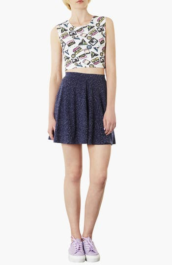 Alternate Image 3  - Topshop 'Andie' Skater Skirt