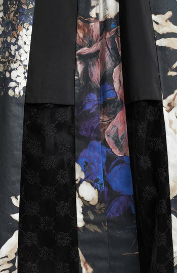 Alternate Image 3  - Thakoon Lace Inset Floral Print Dress