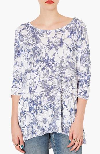 Main Image - Topshop Floral Print Tee