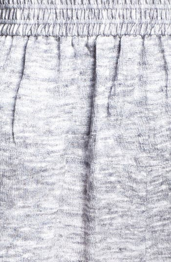 Alternate Image 2  - Alexander Wang Mélange Print Silk Drawstring Pants