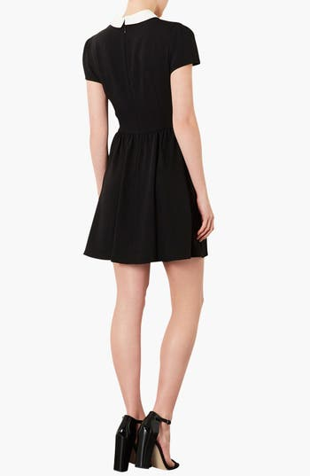 Alternate Image 2  - Topshop 'Florence' Peter Pan Collar Dress