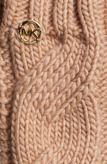 Alternate Image 2  - MICHAEL Michael Kors Cable Knit Arm Warmers