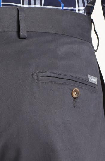 Alternate Image 3  - Façonnable 'Savon' Flat Front Cotton Pants