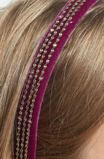 Alternate Image 2  - Tasha 'Velvet Vixen' Headband