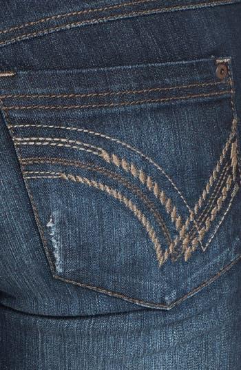 Alternate Image 3  - Jolt Embroidered Pocket Skinny Jeans (Juniors)