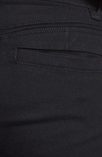 Alternate Image 3  - Jolt Zipper Skinny Jeans (Juniors)