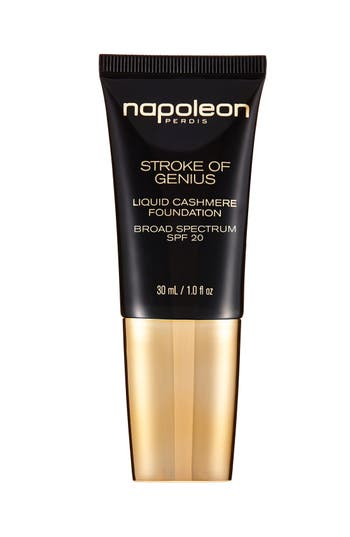 Main Image - Napoleon Perdis 'Stroke of Genius Liquid' Cashmere Foundation Broad Spectrum SPF 20