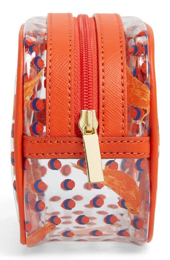 Alternate Image 4  - Tory Burch 'Lizzie - Small' Cosmetics Case