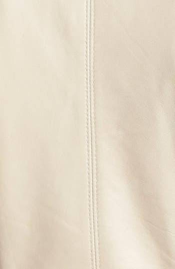 Alternate Image 3  - Classiques Entier® Double Zip Detail Leather Jacket