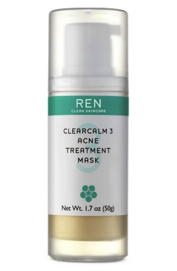 Alternate Image 1 Selected - REN 'ClearCalm3' Acne Treatment Mask