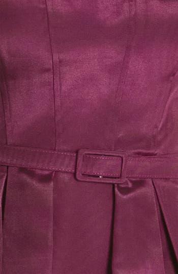 Alternate Image 3  - Eliza J Belted Spaghetti Strap Fit & Flare Dress