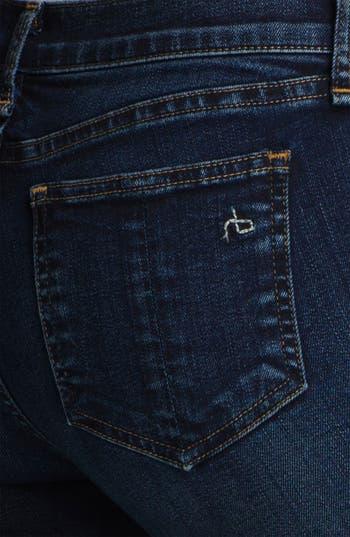 Alternate Image 3  - rag & bone/JEAN Skinny Stretch Jeans (Woodford)