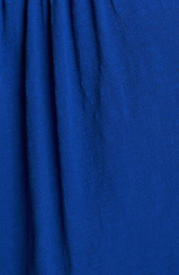 Alternate Image 3  - Lucky Brand Crochet Detail Cotton Tank