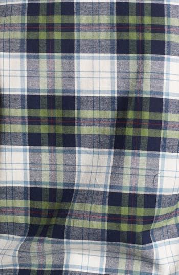 Alternate Image 3  - Pretty Rebel Studded Plaid Shirt (Juniors Plus)