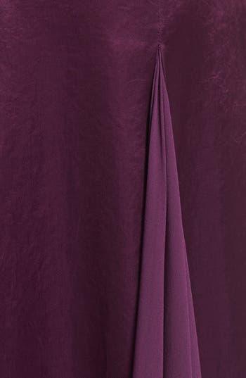 Alternate Image 3  - Halston Heritage Satin & Chiffon Gown