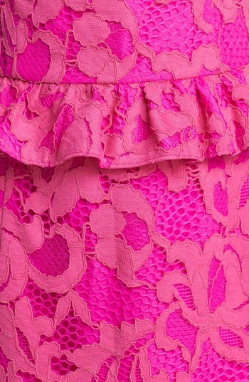 Alternate Image 3  - Lilly Pulitzer® 'Kiri' Lace Peplum Dress