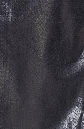 Alternate Image 3  - J Brand Ready-to-Wear 'Marilena' Leather Tee