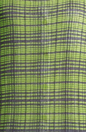 Alternate Image 3  - Halogen® Plaid Colorblock Sweater (Regular & Petite)