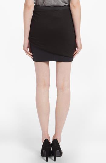Alternate Image 2  - maje 'Doremi' Drape Skirt