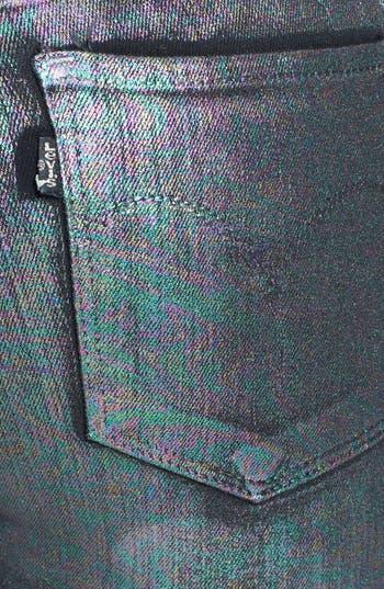 Alternate Image 3  - Levi's® 'Core Better Legging' Coated Skinny Jeans (Petrol)