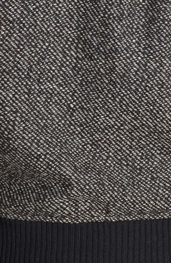 Alternate Image 3  - BP. Faux Leather Shoulder Tweed Bomber Jacket (Juniors)