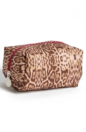 Alternate Image 3  - Tri-Coastal Design 'Leopard' Print Cosmetics Case (Set of 4)