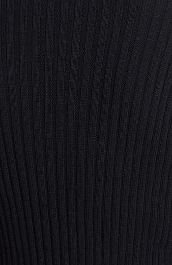 Alternate Image 3  - BP. Mock Neck Crop Cotton Pullover (Juniors)
