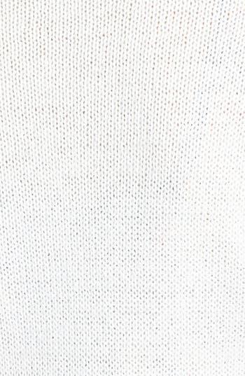Alternate Image 3  - Frenchi® Pointelle Knit Crop Cardigan (Juniors)