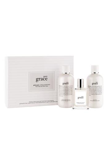 Main Image - philosophy 'pure grace' gift set ($81 Value)