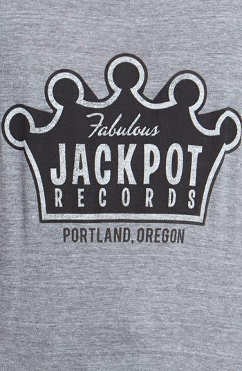 Alternate Image 3  - Horses Cut Shop 'Jackpot Records' Cotton Tee (Juniors)