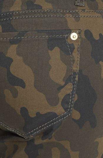 Alternate Image 3  - Standards & Practices Zip Detail Ankle Skinny Jeans (Camo Print)