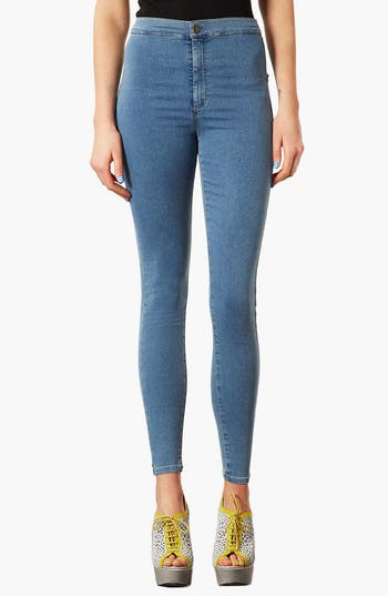 Alternate Image 1 Selected - Topshop Moto 'Joni' High Rise Skinny Jeans