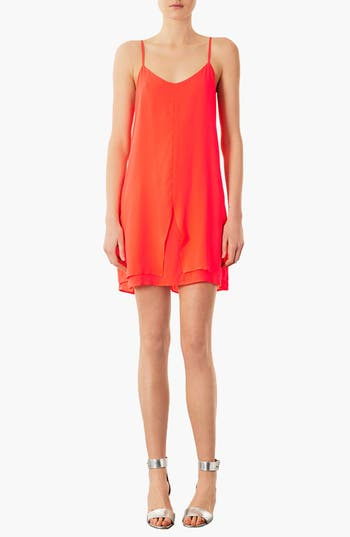 Main Image - Topshop 'Pacha' Strappy Slipdress