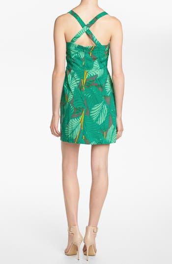 Alternate Image 2  - Viva Vena! 'Pin Up' Flirty Ruffle Dress